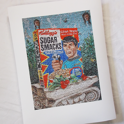 Sugar Smacks signed print