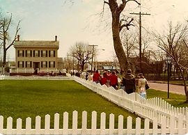Lincoln Home, March 1979, Springfield, Illinois