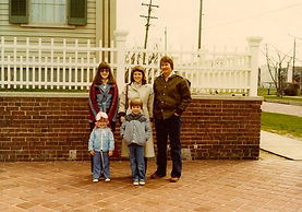 A very young me at the Lincoln Home, March 1979, Springfield, Illinois
