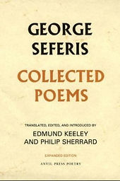 Collected Poems Seferis