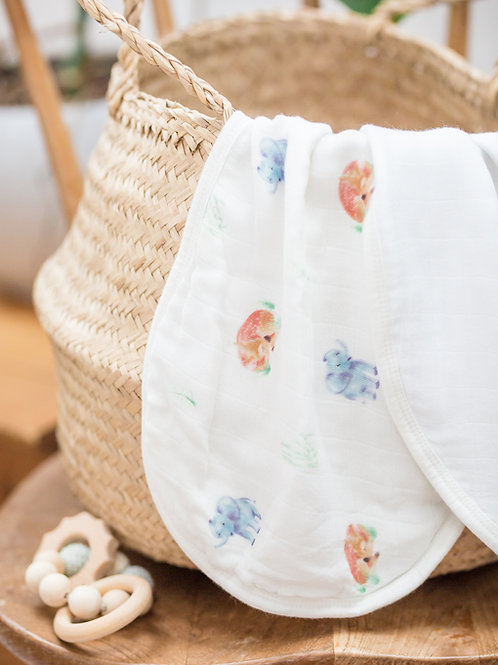 Muslin Burp Cloth Set