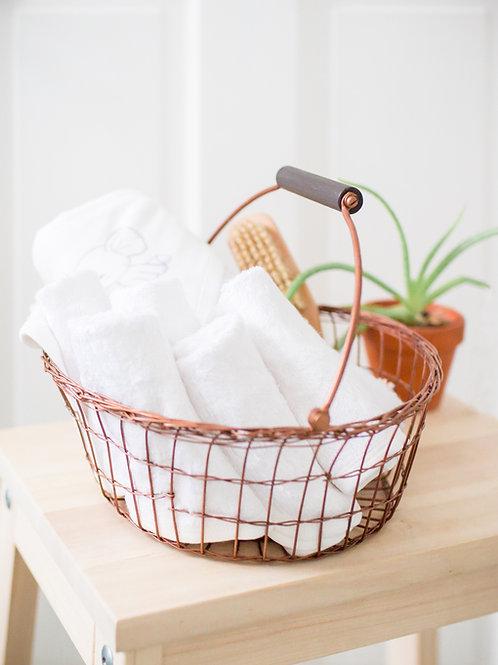 For Bath Gift Set (Organic Bamboo)