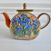 Copper & Enamel Teapot