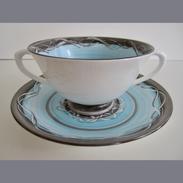 Drymen Pottery Bowl & Under Plate