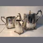 Brittania EPNS Tea Set