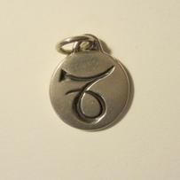 Silver Zodiac Capricorn Pendant