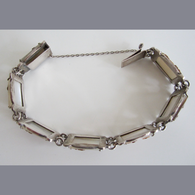 Edwardian Silver Bracelet