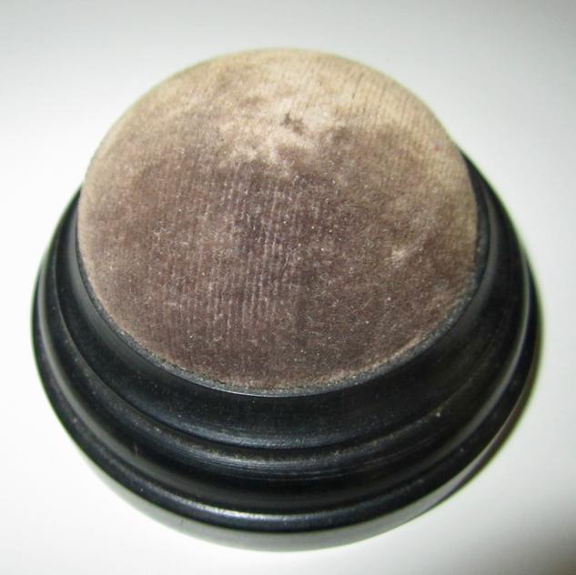Edwardian Ebony Pin Cushion
