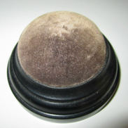 Edwardian Ebony Pin Cushion