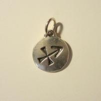 Silver Zodiac Saggitarius Pendant