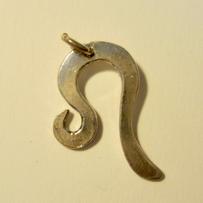 Silver Leo Zodiac Symbol Pendant