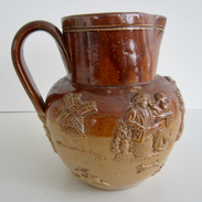 Victorian Stoneware Jug