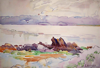 IsobelHotchkisShoreline&Gulls.png