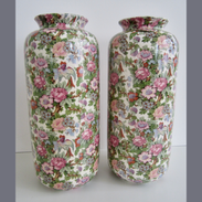 Chintz Vases
