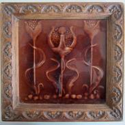 Art Nouveau Shadow Tile