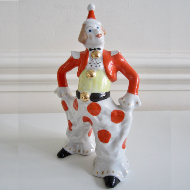 Oleg Popov Porcelain Figure