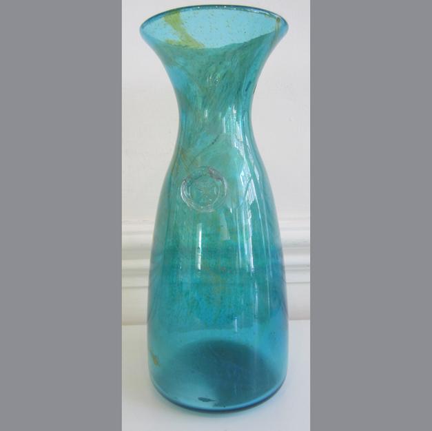 1960's Glass Vase