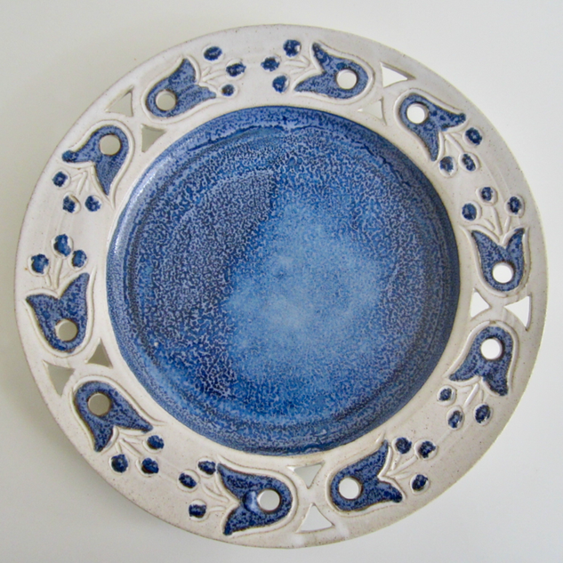 Anne Hughes Pottery Plate