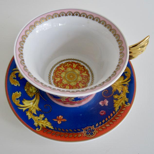 Rosenthal Versace Cup & Saucer