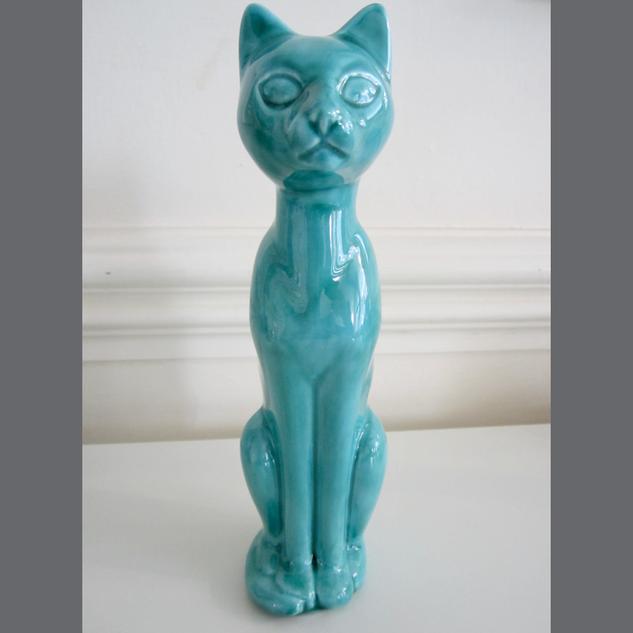 Anglia Pottery Cat