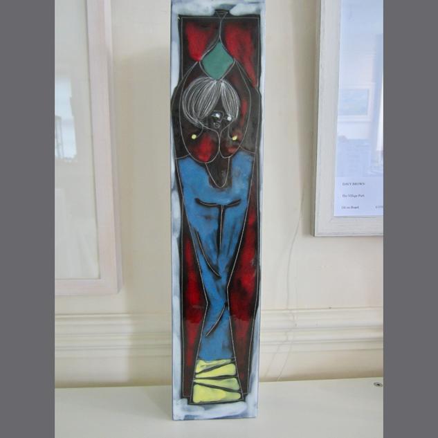 1950's Italian Slab Vase