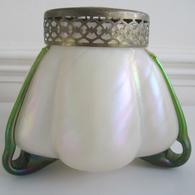 Art Nouveau Glass Bowl