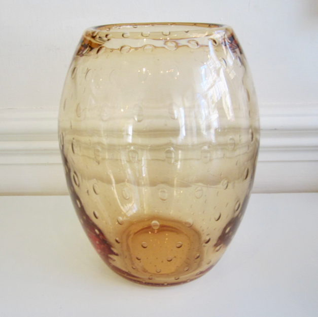 Whitefriars Glass Vase