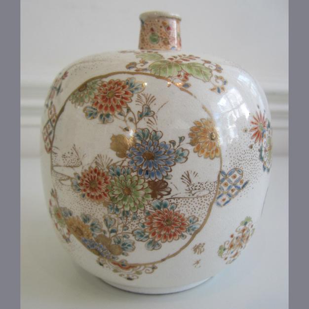 Satsuma Globular Vase