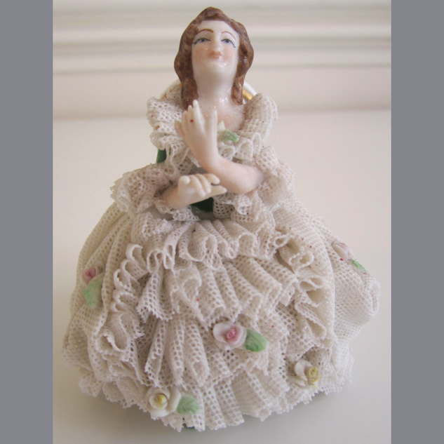 Porcelain Lady In Lace