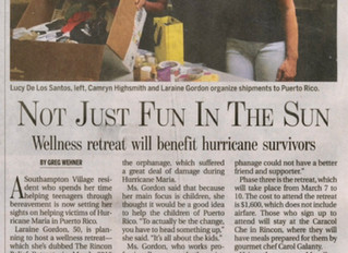 Not Just Fun in the Sun - Wellness retreat will benefit hurricane survivors