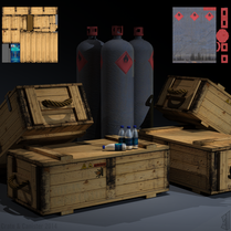 Ammo Crate & Welding Cannister