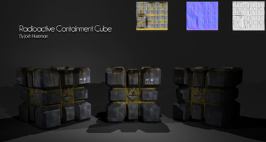 Radioactive Containment Cube