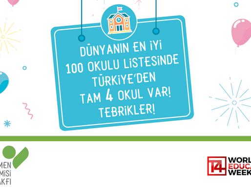 Dünyanın En İyi 100 Okulu Listesinde Türkiye'den 4 Okul Var!