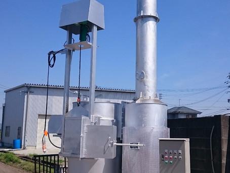 空冷式焼却炉FSO-50型