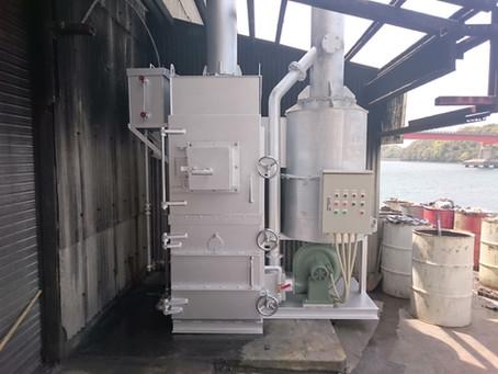 水冷式焼却炉CSZ-50型