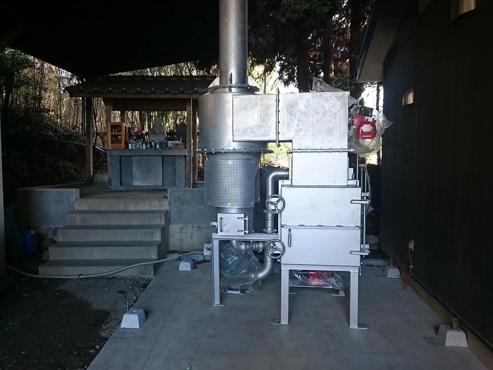 小型ペット火葬炉 CSD-20