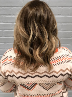 Deep root and balayage