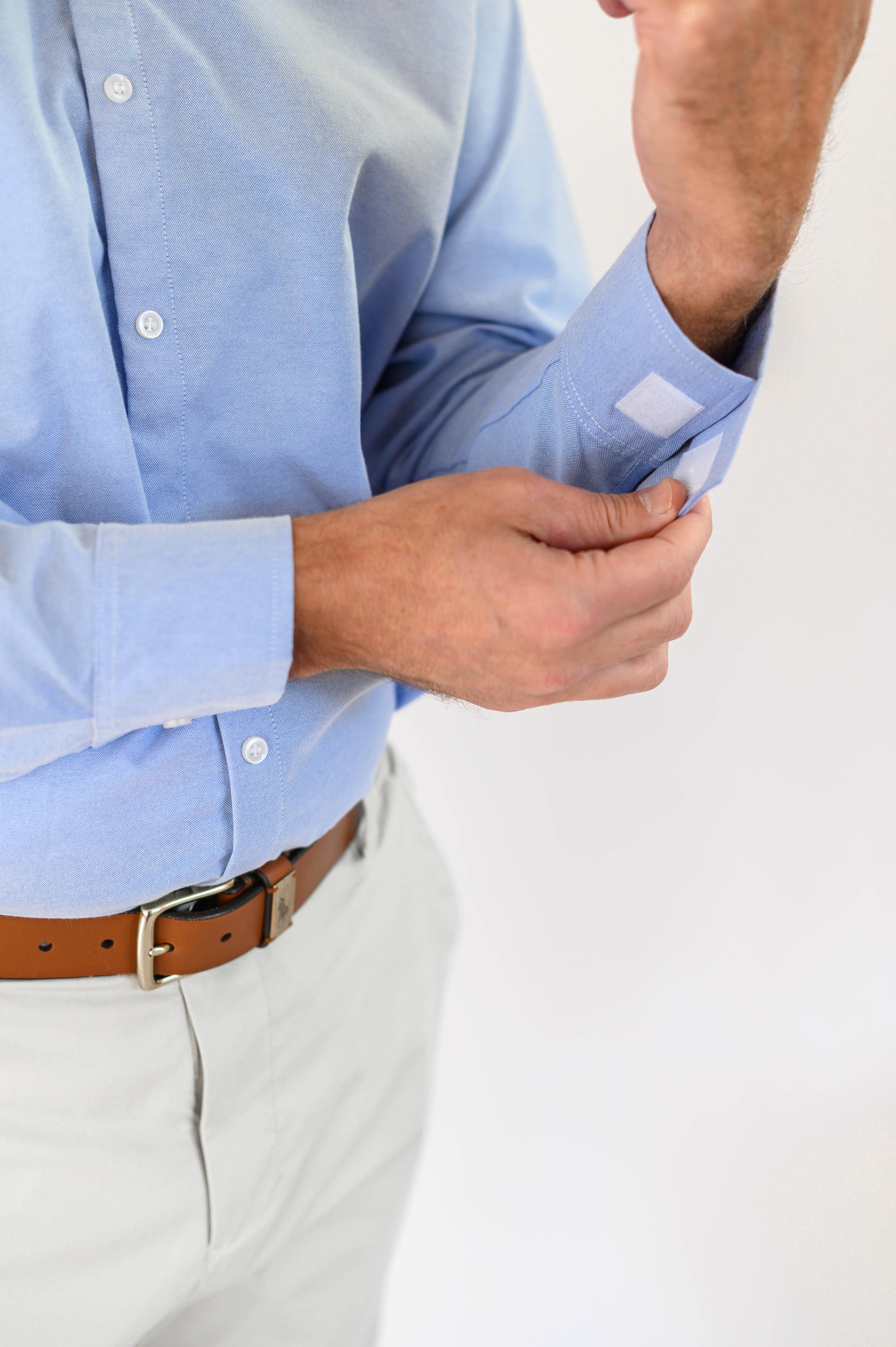 Smart Adaptive Clothing Velcro on cuff 3