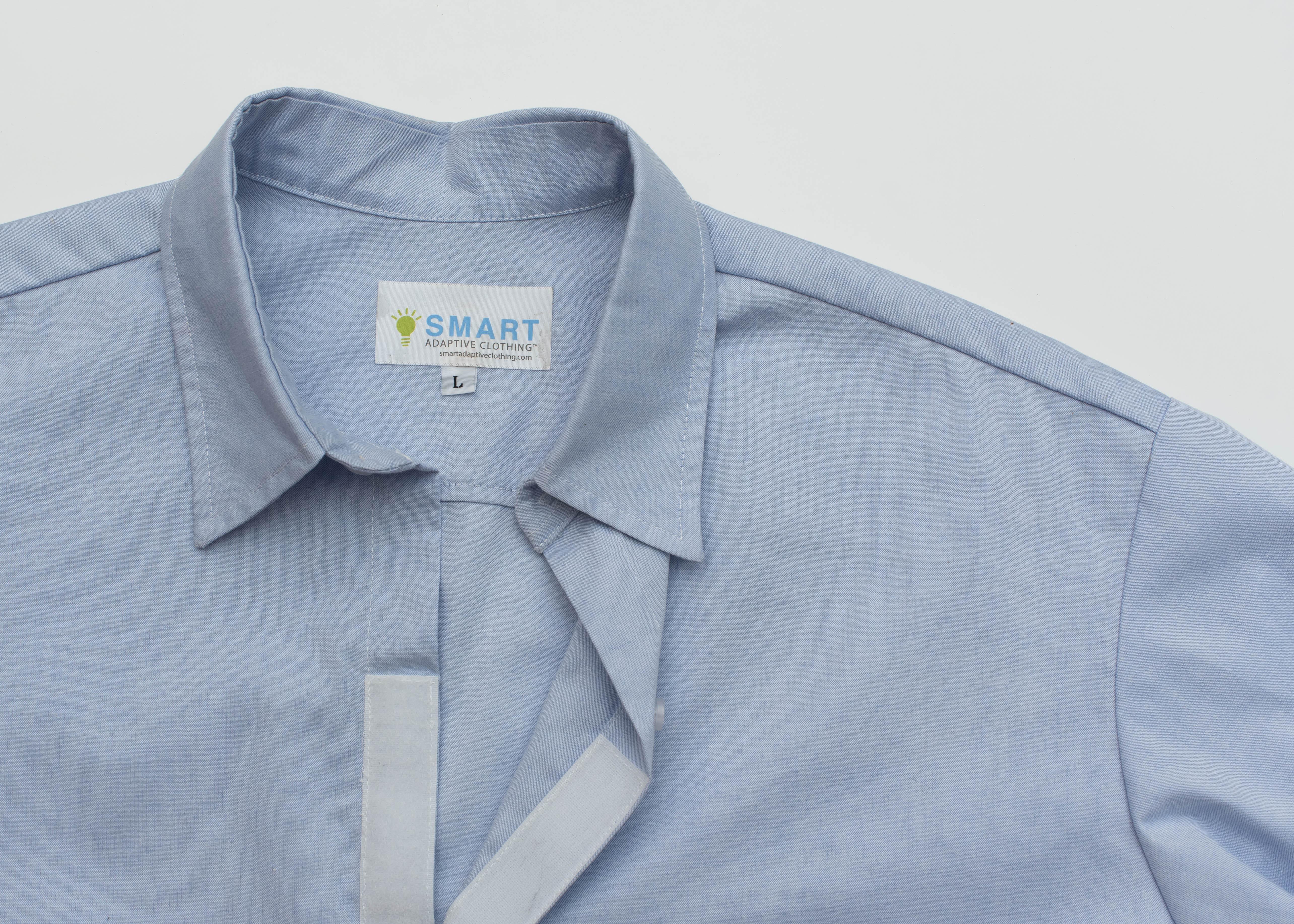 Smart Adaptive Clothing front placket Ve