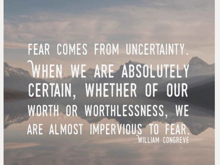 Fearlessness – behaviors to adopt