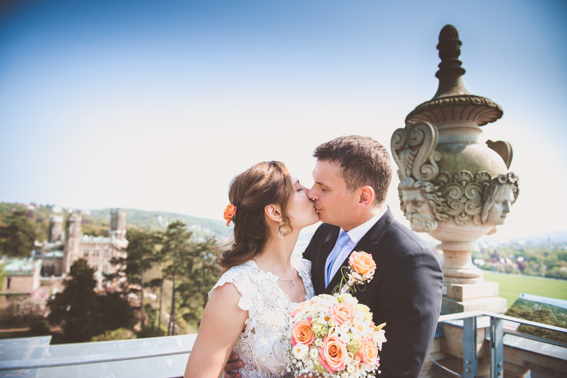 Schloss Eckberg Hochzeit Fotograf