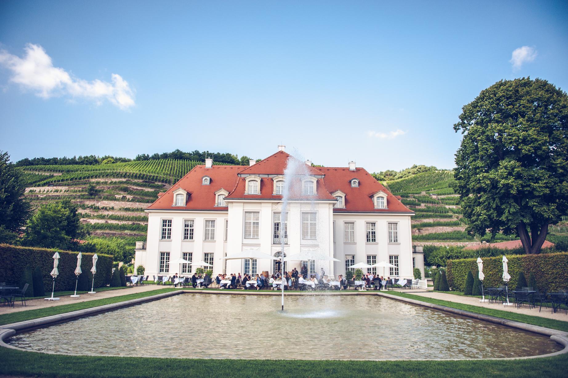 Schloss Wackerbarth Hochzeit