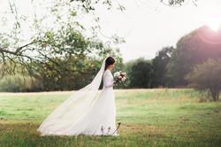 emotionelle Hochzeitsfotos Braut