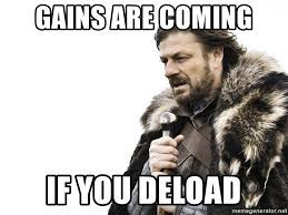 A beginners guide to deloading – How to take your foot off the gas without ruining progression
