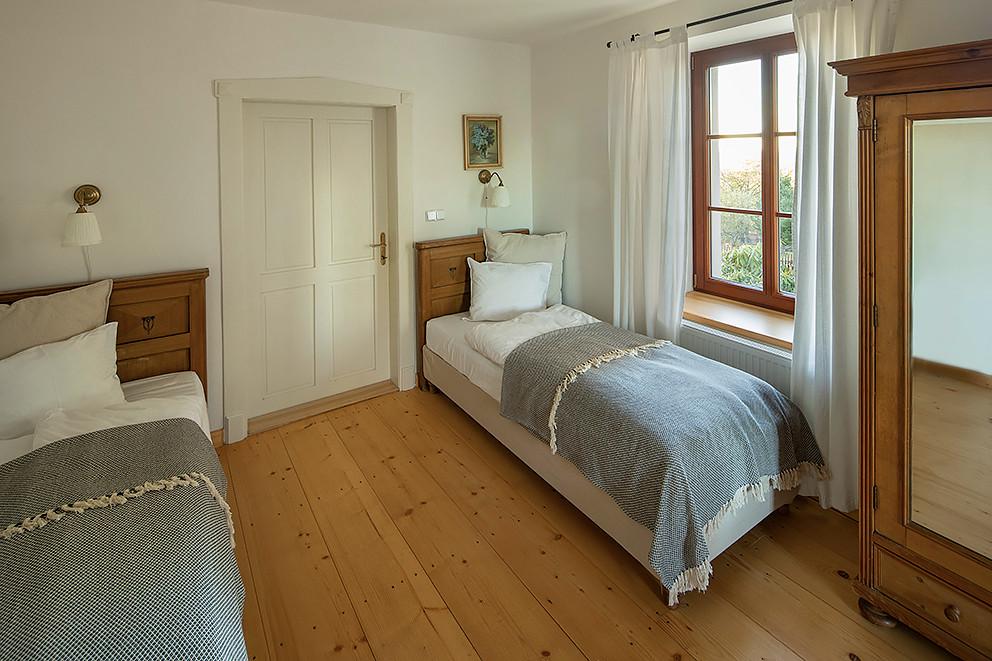 Kokořín ložnice