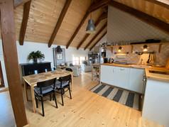 Apartmán Mácha kuchyně s jídelnou