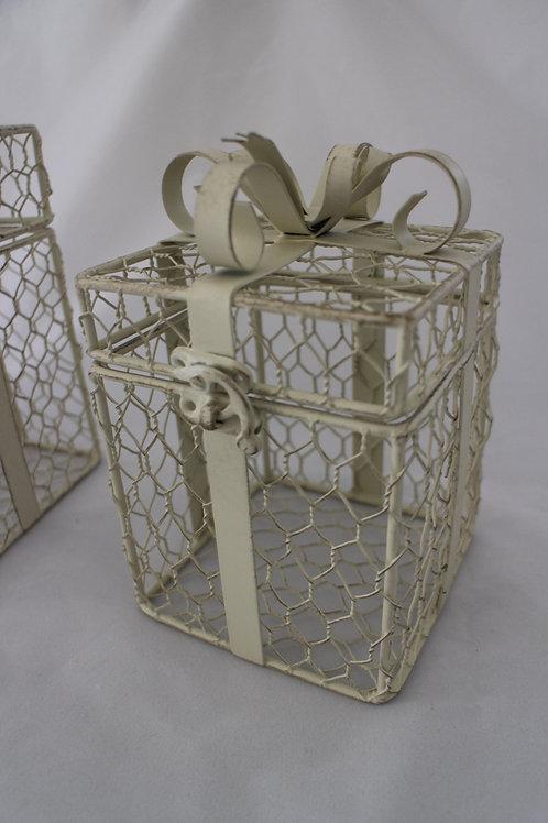 White Gift Boxes (Metal)