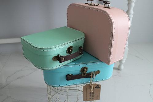 Retro Pastel Suitcases