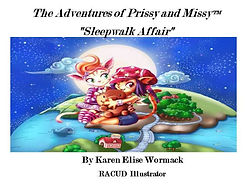 Prissy and Missy Sleepwalk Affair Cover.