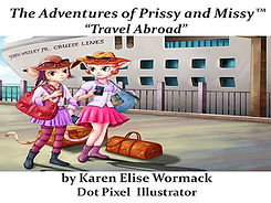 Prissy and Missy Travel Abroad Cover Pag